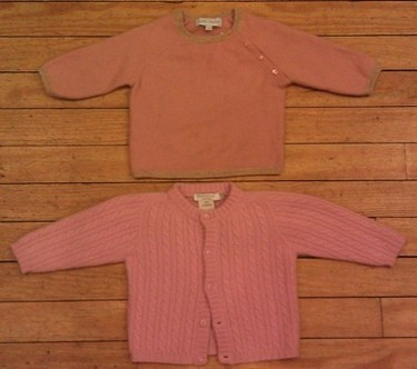 More cashmere sweaters!