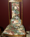Oak Tapestry High-back