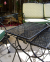 Wrought Iron nest of tables