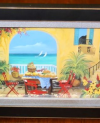 Small Seaside Balcony painting