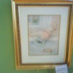 "(W 112513-4) Bessie Peace Gutmann Print ""The Lullaby"""