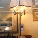 1-16064 Chrome Modern Bouillotte Lamp
