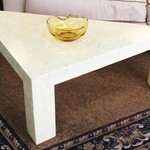 1-17368 Triangular Coffee Table (Made from Shells)