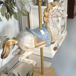 1-17905 Antiqued Carousel Horse NOW 50% OFF