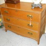 1-18579 Antique Oak Dresser