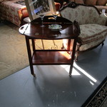 1-21284 Butler Table With Removable Tray