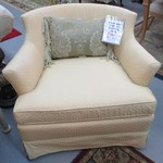1-21336 Heirloom Cream Slipper Chair