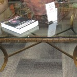 1-21679 Glass Top Coffee Table