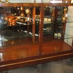 1-2127 Henredon Display Case With Glass Shelves