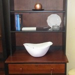 Ethan Allen Cabinet And Shelves