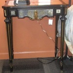 1-22057 Mirrored Accent Table