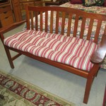 1-22086 Bench With Cushion