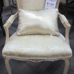 1-22393 French Arm Chair