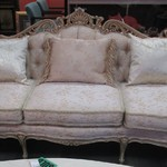 1-22391 Ornate French Sofa