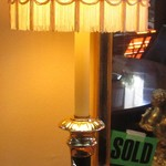 1-21955 Black And Brass Buffet Lamp