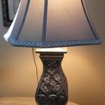 1-21663  Gray Stiffel Table Lamp