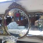 1-22150   Antique Mirror