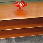 1-22936  Hand Crafted 3 Tier Coffee Table
