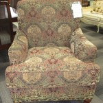 1-22925  Large Tapestry Chair