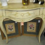 1-22899  Painted Entrance Table