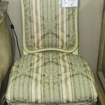 1-22967  Upholstered  French Chair
