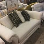 Henredon White Sofa
