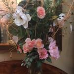 1-23629 Glass Floral Vase