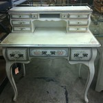 French Hand-painted Desk
