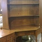 Ethan Allen Corner Desk w/ Hutch