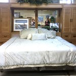 23479- King Size Bed w/ Storage and 2 Towers