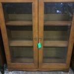 23724- Bookcase w/ Doors