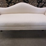 1-23954 White Bed Bench