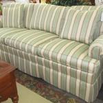 1-23979 Hickory Striped Sofa