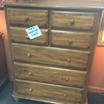 1-23991 Queen Bedroom Set, Dresser w/ Mirror, Chest, 2 Nightstands
