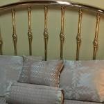 1-23443 Queen Brass Headboard