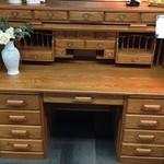 1-24236 Oak Rolltop Desk