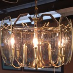 1-24111 Brass Chandelier