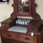 1-23799 EastLake Antique Dresser w/ Mirror