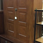1-24213 Tall Antique Cabinet