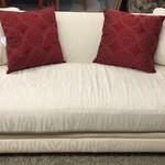 1-23238 Henredon White Sofa