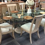 1-24339 Drexel Dining Table w/  6 Chairs