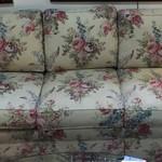 1-23981 Ethan Allen Floral Sofa