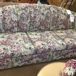 1-24330 Floral Sofa Bed