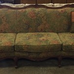 1-23794 French Provincial Floral Sofa