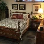 1-24501 Queen Bed, Chest/Armoire, Dresset w/ Mirror, Nightstand