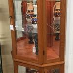 1-24459 Pulaski Oak Curio