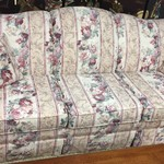 1-24530 Floral Sofa