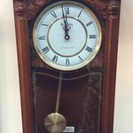 1-24322 Bulova Wall Clock