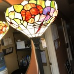 1-24654 Stain Glass Floor Lamp