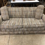 1-25240 Plaid Sofa Bed
